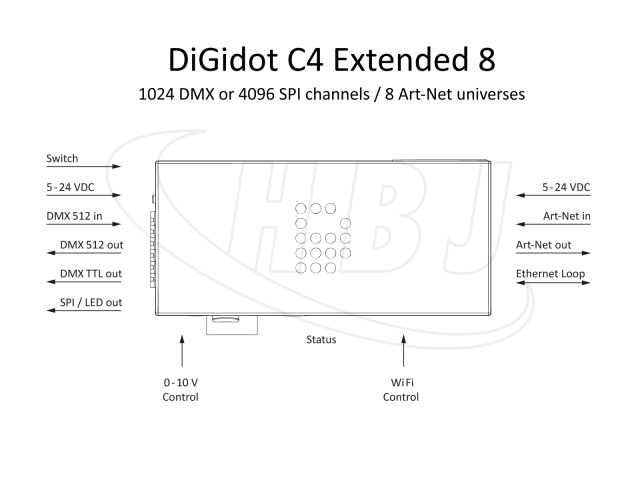 DiGidot C4 Extended 8